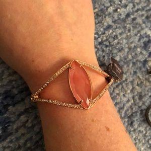 Adjustable rose gold Henri Bendel bracelet